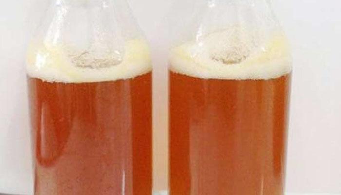 Dựa mức độ tạo gas và bọt của mật để phân biệt